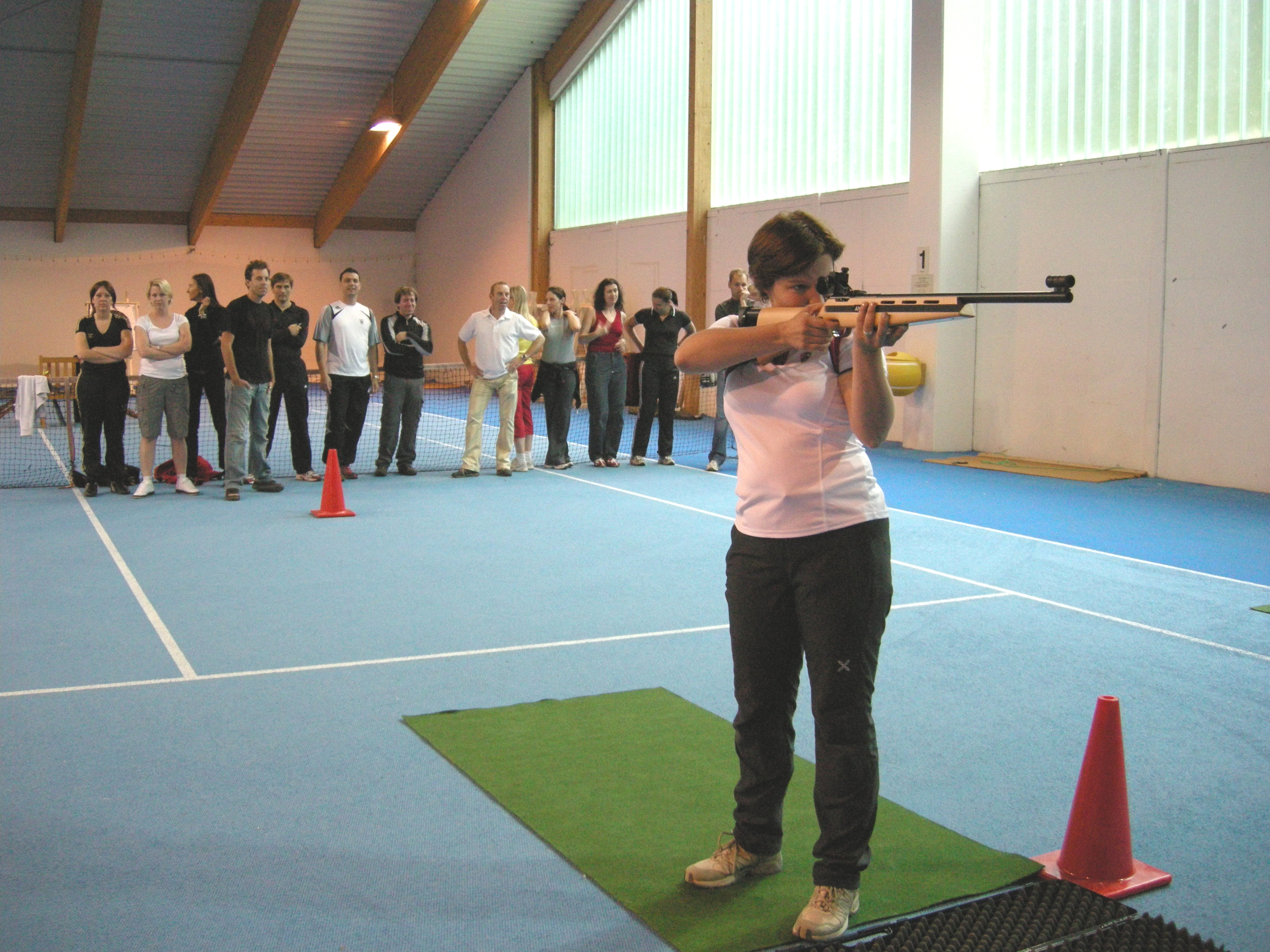 Indoor Biathlon 007
